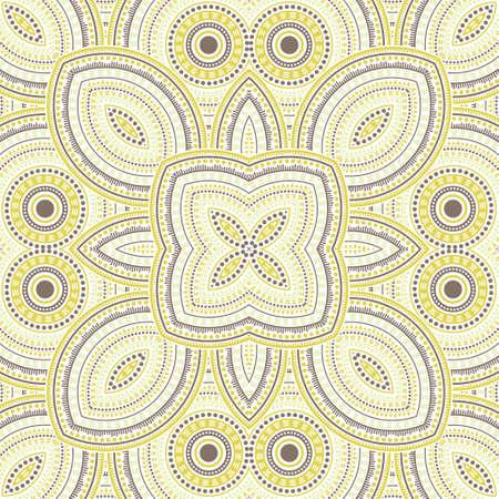 Elegant portugese azulejo tile seamless ornament. Geometric texture vector swatch. Curtains print design. Classic lisbon azulejo tilework seamless pattern. Interior decor template.