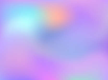 Neon holographic paper fluid gradient backdrop. Creative iridescent mermaid background. Liquid colors neon background. Lucent blurred splash holographic vector wrapping paper.