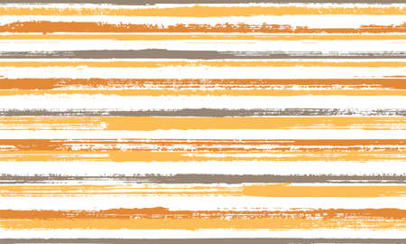Ink handdrawn grunge stripes vector seamless pattern. Traditional serape ethnic textile design. Old style texture grunge stripes, lines background swatch. Repeatable pattern. Ilustração