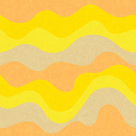 Kids fashion wavy seamless pattern. Nautical waves fluid doodle vector. Cute wavy stripes childish fabric print. Trendy leaner ribbons candy pattern. Background ornament.