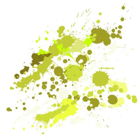Watercolor paint stains grunge background vector. Decorative ink splatter, spray blots, mud spot elements, wall graffiti. Watercolor paint splashes pattern, smear liquid stains splatter backdrop.