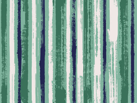 Watercolor strips seamless vector background. Bright wall graffiti drawing illustration. Striped tablecloth textile print. Vivid vertical lines stains vector graphics.