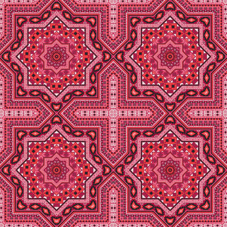 Beautiful portugese azulejo tile seamless rapport. Ethnic structure vector elements. Fabric print design. Stylish lisbon azulejo tilework recurrent pattern. Line art graphic background.