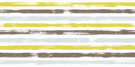 Fashion watercolor brush stripes seamless pattern. Ink paintbrush lines horizontal seamless texture for backdrop. Hand drown paint strokes decoration artwork. For textile.