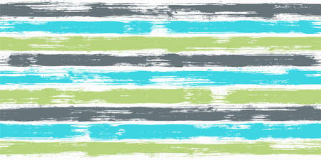 Trendy watercolor brush stripes seamless pattern. Ink paintbrush lines horizontal seamless texture for background. Hand drown paint strokes decoration artwork. For wallpaper. Çizim