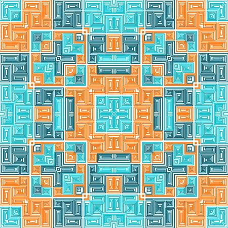 Navajo seamless pattern cool ethnic tribal design