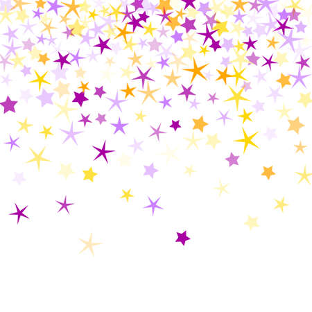 Bright stardust scatter illustration. Abstract