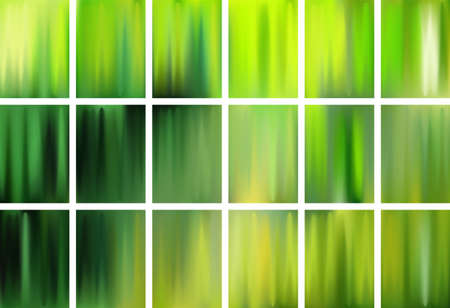 Earth day Natural color blending fluid gradient backgrounds vector collection for banners, posters, covers. Liquid fluid gradients of different colors. Smooth abstract Earth Day design. 向量圖像