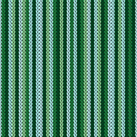 Natural vertical stripes knitting texture geometric seamless pattern. Jacquard stockinet ornament. Nordic style seamless knitted pattern. Christmas spirit backdrop. 向量圖像