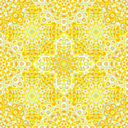 Delicate openwork geometric floral seamless pattern vector fashionable graphic design for textile print, ethnic batik, cloth fabric. Floral geometric abstract ornament. Foto de archivo - 168165605