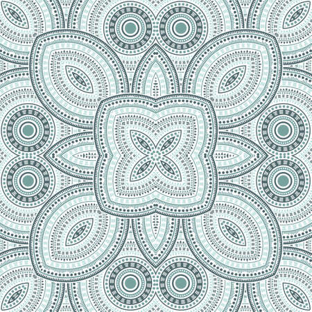 Linear moroccan zellige tile seamless ornament. Ethnic geometric vector elements. Bedcover print design. Stylish moroccan zellige tilework perpetual pattern. Interior decoration print.