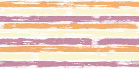 Tartan watercolor brush stripes seamless pattern. Ink paintbrush lines horizontal seamless texture for backdrop. Hand drown paint strokes graffiti artwork. For textile.