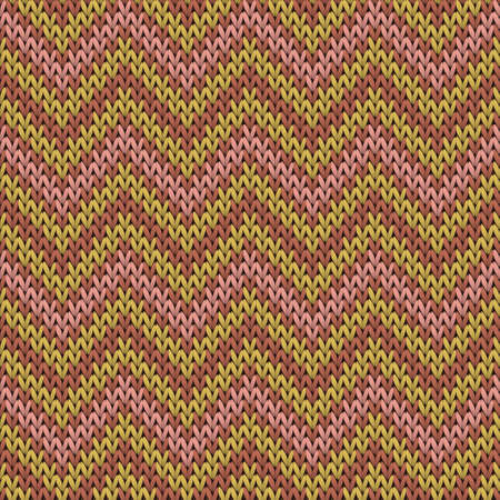 Soft chevron stripes knitted texture geometric