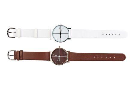 Montre-bracelet pour homme. Banque d'images