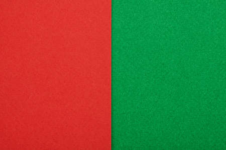 Red and green paper texture. Close Up 免版税图像