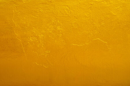 textura oro: Textura amarilla de oro de fondo en la parte de atr�s de la estatua de Buda en el templo