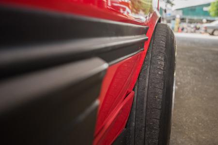 wheel, car wheel, car wheel repair, wheel repair, wheel and brake repair Stock Photo