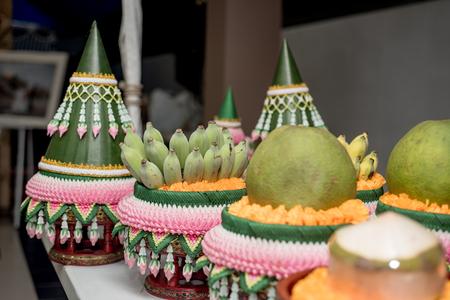 Wedding Dowry, The Dowry Marriage in Thailand, Thailand wedding, ceremony 版權商用圖片