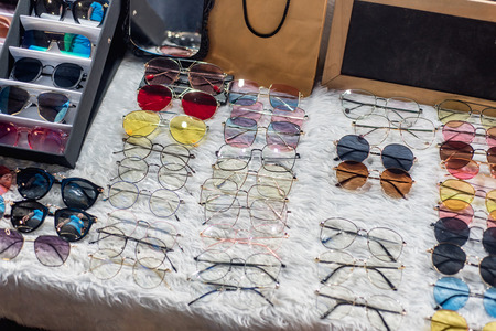 eyeglasses, glasses, sun glasses Stock Photo
