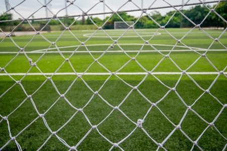 Football field or soccer field 写真素材