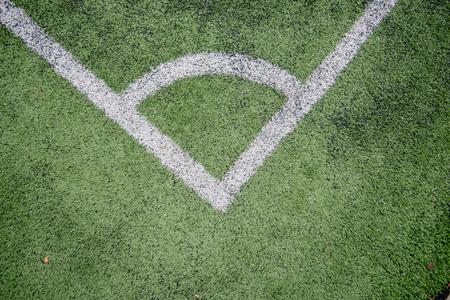 Football field or soccer field Imagens