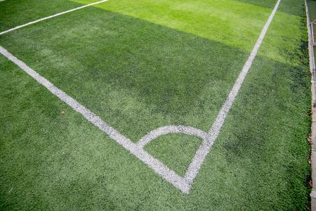 Football field or soccer field Reklamní fotografie