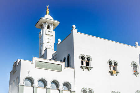 andalusia: Mosque in Fuengirola, Malaga Province, Andalusia, Spain Stock Photo