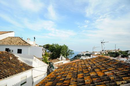 Rooftops of Benalmadena, Andalucia, Spain Stock Photo