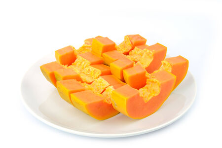 deliciously: Papaya are deliciously sweet with musky undertones and soft