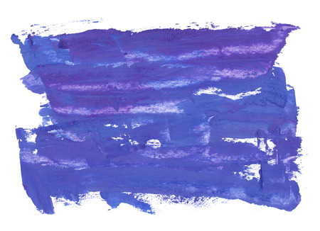 Navy blue, indigo hand painted brush stroke background texture. Oil painted abstract frame backdrop on canvas with spots and stains. Modern contemporary art, creative illustration design.