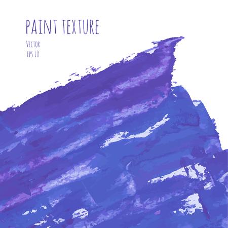 gouache: Navy blue, indigo hand painted vector brush stroke background texture.
