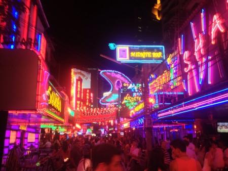 soi: Soi cowboy in Bangkok Thailand