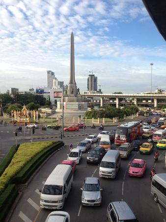 Victory monument Bangkok Thailand