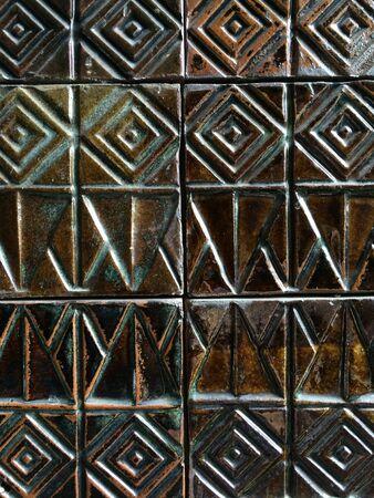 tile: Classic tile wall Stock Photo