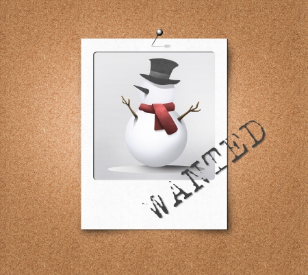 most: Most wanted snowman