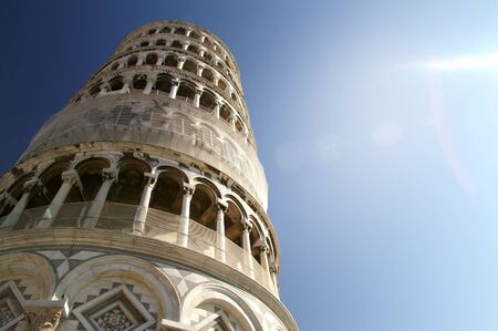 Leaning tower Pisa, Tuscany, Italy photo