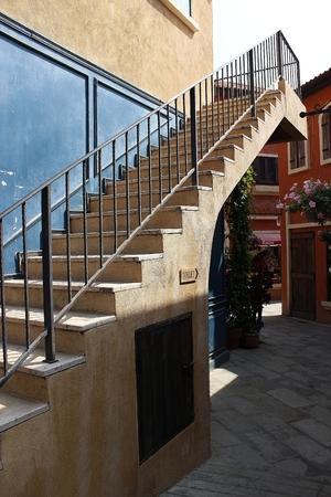 palio: Stairway in palio thailand