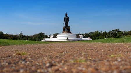 comp: Big Buddha statue image at Phutthamonthon in Nakhon Pathom Thailand. Royalty Free Stock Photo Find Similar Get a Comp Save to Lightbox Big Buddha statue image at Phutthamonthon in Nakhon Pathom Thailand