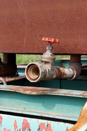 Pipes and Valve photo