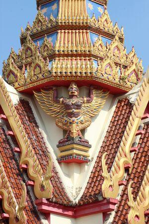 garuda: Thai Garuda statue photo in thailand Stock Photo