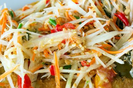 tam: Som Tam Thai - Thai Green Papaya Salad