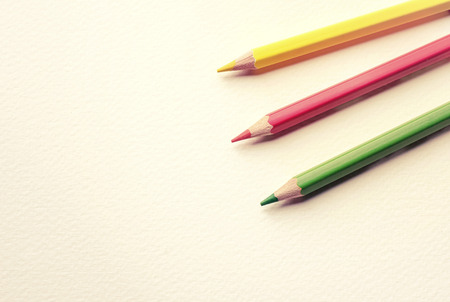 pastel color: Color pencil on the paper drawings, pastel color.