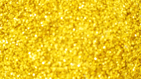 Golden glitter for an abstract background.