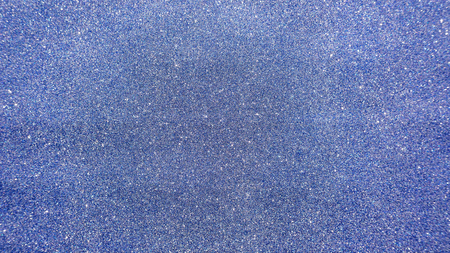 blue glitter for an abstract background.