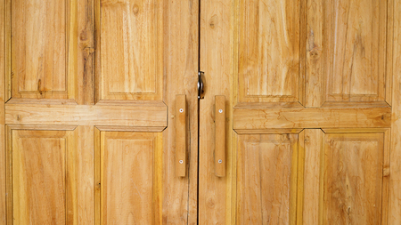 Wooden doors for a background. Banque d'images