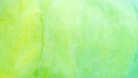 Close up of green cotton candy for a background.