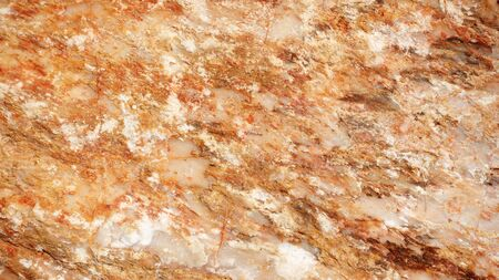 Close up of brown stone for a background. Stock Photo
