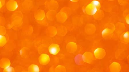 Orange bokeh for a background.
