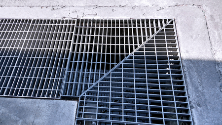 Sewage Steel Grating Corner Connection