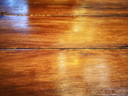 Full Frame Vanished Wooden Plank Table Texture Background